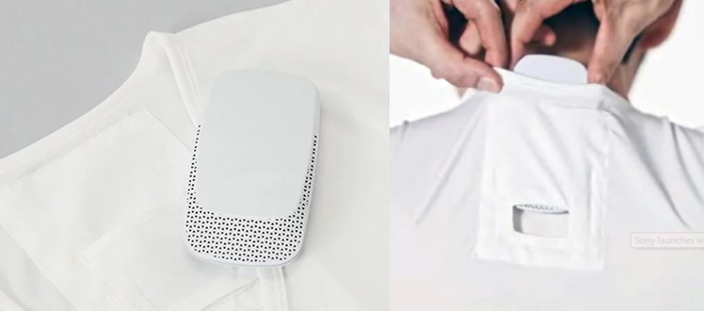 Sony's Wearable AC is launched Named as Reon Pocket