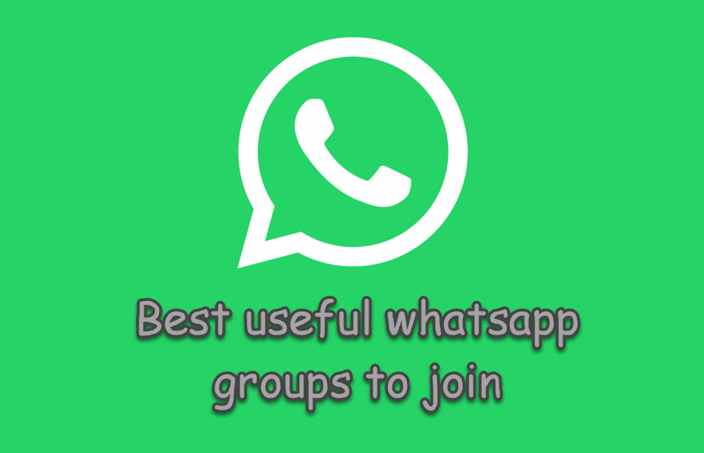 Best useful whatsapp groups to join