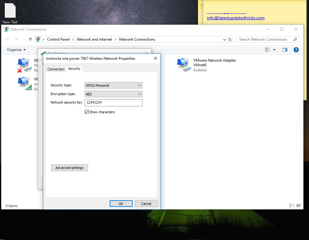 How to view saved Wi-Fi passwords in Windows 10, Android and iOS