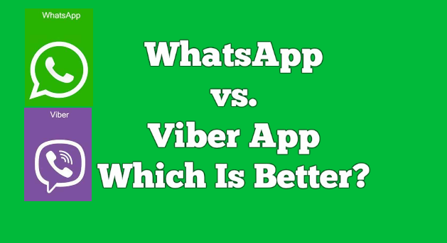Why Viber is better than Whatsapp