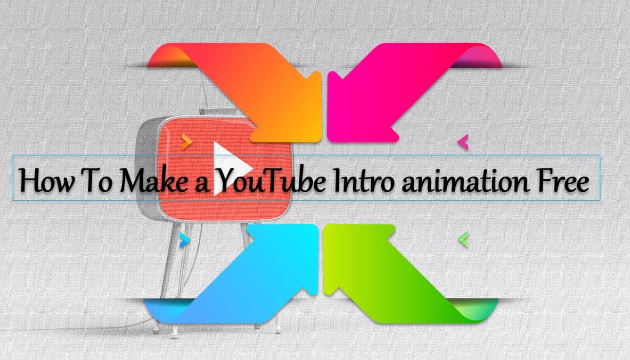 How To Make a YouTube Intro animation Free